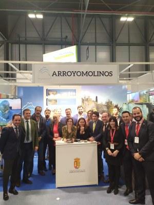 Arroyomolinos presenta en FITUR su nueva campaña de promoción del municipio, Arroyomolinos Es Vida