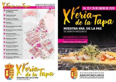 Arroyomolinos celebra este fin de semana su X Edición de la Feria de la Tapa