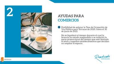 El Ayuntamiento de Arroyomolinos permitirá a los hosteleros ampliar el espacio de sus terrazas y aplazar el pago de la tasa hasta 2021Además, no pagarán por el tiempo que no han podido instalarlas y se reducirá la parte proporcional del tiempo que haya es