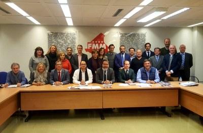 Arroyomolinos, junto con otros 15 municipios, se une a la Red de Agencias de Colocación de la FMM