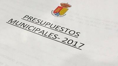 Así son los Presupuestos Generales de 2017 de Arroyomolinos