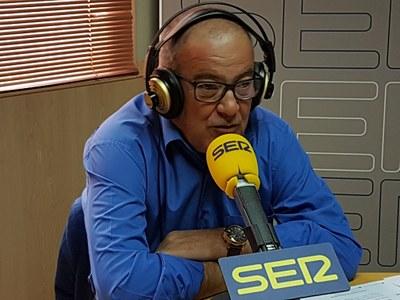 Entrevista a José Vicente Gil, Concejal de Hacienda de Arroyomolinos, en Ser Madrid Oeste, 102.3 FM, sobre la aprobación de los Presupuestos Municipales