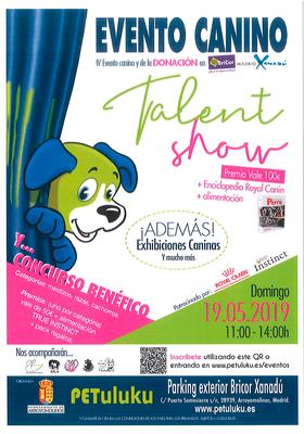 Arroyomolinos celebra su IV Evento Canino el 19 de mayo