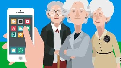 """Participa en el concurso joven de cortos realizados con el móvil, """"El Valor de las abuelas"""""""
