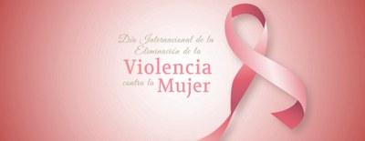 Participa en el acto central del Día Internacional de la Eliminación de la Violencia contra la Mujer