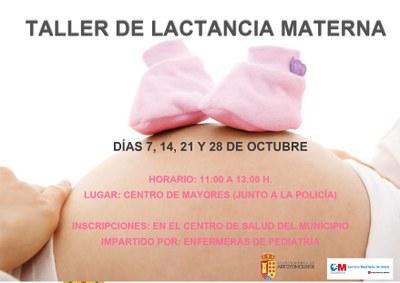 """El Ayuntamiento pone en marcha los """"Talleres de Lactancia"""", para orientar a madres primerizas"""