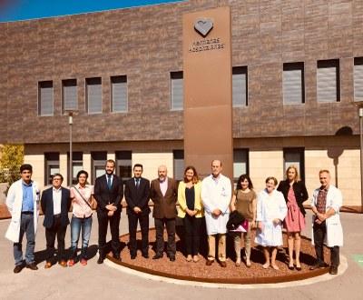 El equipo de Gobierno del Ayuntamiento de Arroyomolinos y la dirección de la Residencia de Discapacidad Intelectual Benito Menni de esta localidad