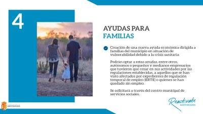 El Ayuntamiento de Arroyomolinos habilita una línea de ayudas de urgencia para familias en vulnerabilidad a consecuencia de la crisis sanitaria, con una dotación inicial de 300.000 euros.