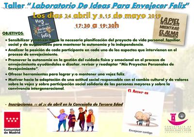 Arroyomolinos pone en marcha un taller de ideas para envejecer feliz