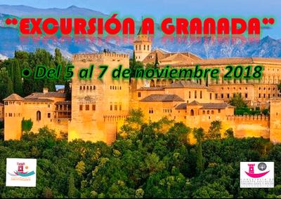 Los mayores arroyomolinenses visitarán Granada el próximo mes de noviembre