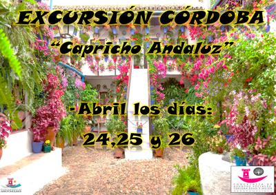 """Los mayores de Arroyomolinos disfrutarán de un """"capricho andaluz"""" entre el 24 y el 26 de abril"""