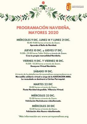 Programación Navideña para Mayores 2020