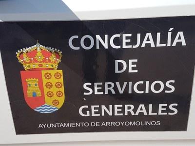 El Ayuntamiento de Arroyomolinos tiene un servicio de recogida de restos vegetales y enseres