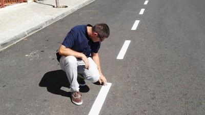 Nuevas tareas de mantenimiento de la señalización horizontal