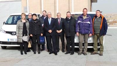 El Ayuntamiento recibe dos nuevos vehículos para la Concejalía de Servicios Generales