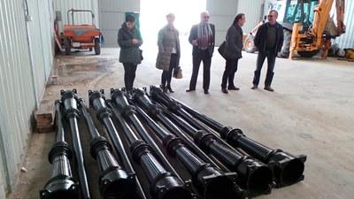 Arroyomolinos recibe 23 farolas gracias a un nuevo plan PRISMA