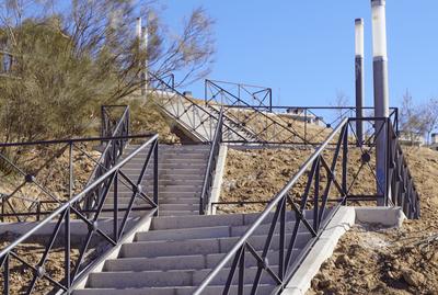 Arroyomolinos abre al público las escaleras de Avda. del Cantábrico