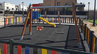 Se abre al público el parque infantil de la calle Goya