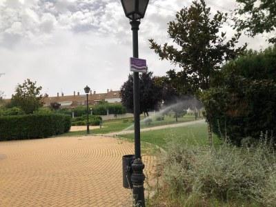 El Ayuntamiento de Arroyomolinos incorporará el riego con agua regenerada en ocho parques urbanos