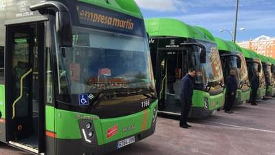 El Consorcio de Transportes incorpora nuevos autobuses a las líneas 496 y 499