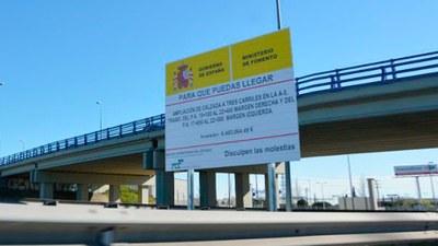Nota informativa sobre el estado del proyecto de ampliación de la A-5 (carretera de Extremadura)