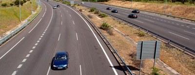 Cortes de carriles en el nudo que enlaza la A-5 (carretera de Extremadura) con la M-40