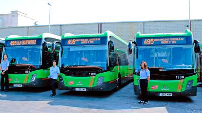 Durante las últimas semanas los nuevos autobuses han entrado en funcionamiento. Forman parte de una inversión de la Comunidad de Madrid de 18 nuevos autobuses interurbanos.