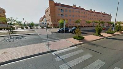 Se inician los trabajos para reducir la velocidad en algunas vías del municipio