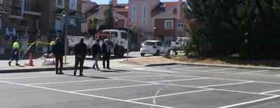 Inaugurado el aparcamiento contiguo a la Escuela Infantil Campanilla