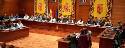 El 15 de febrero a las 11:00h., Pleno extraordinario del Ayuntamiento
