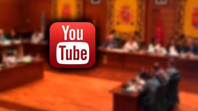 YouTube: la nueva forma de seguir en directo los plenos del Ayuntamiento