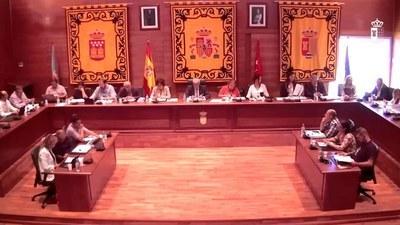 El 25 de mayo a las 19 h, Pleno ordinario del Ayuntamiento