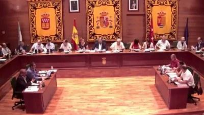 El 25 de octubre a las 11:00 h, Pleno ordinario del Ayuntamiento