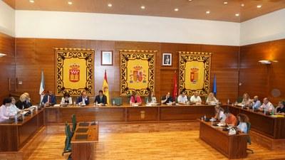 Pleno extraordinario celebrado el 2 de septiembre a las 14:00 en el Ayuntamiento de Arroyomolinos