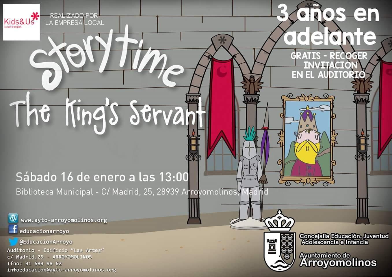Storytime the king servant