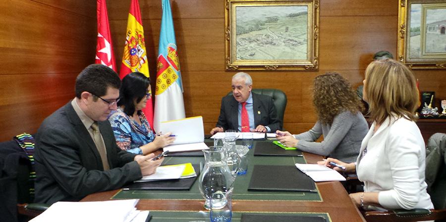 Reunión Ayuntamiento con directoras CEIP de Arroyomolinos