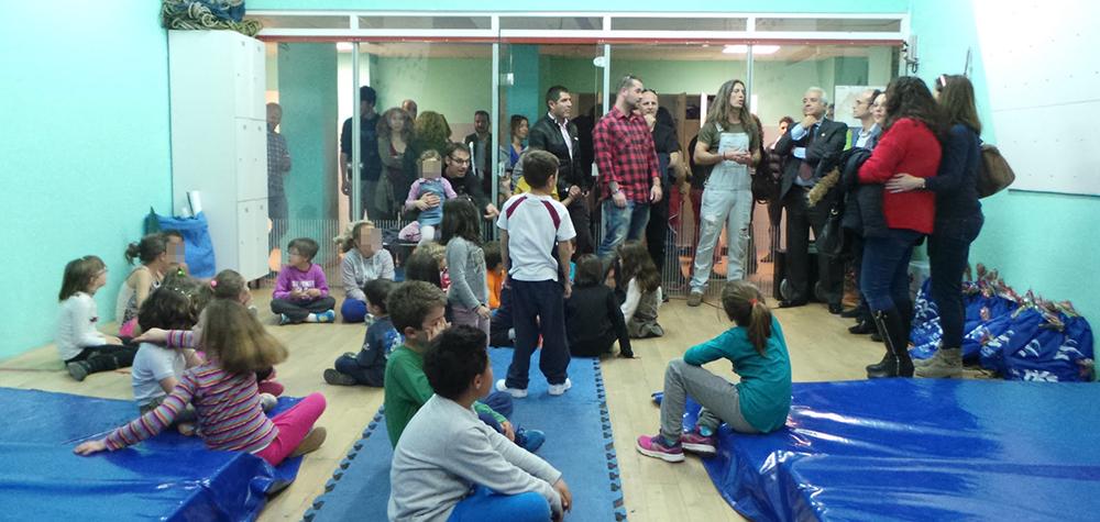 Sala indoor de escalada en La Dehesa