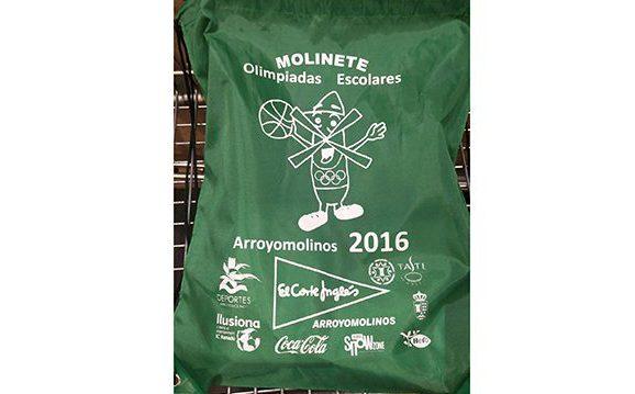 Bolsa de las olimpiadas Escolares 2016