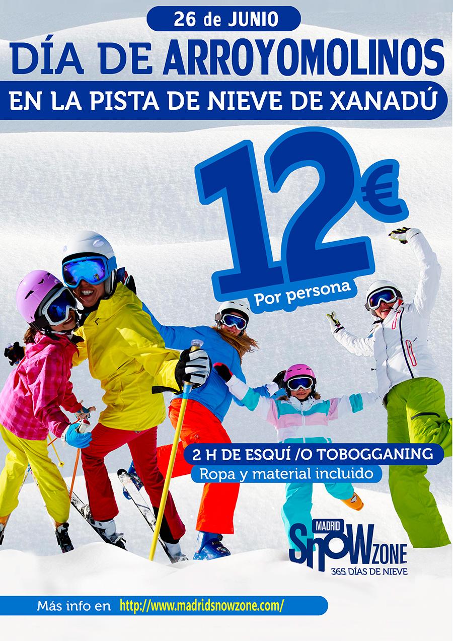 Día de Arroyomolinos en SnowZone Madrid Xanadú