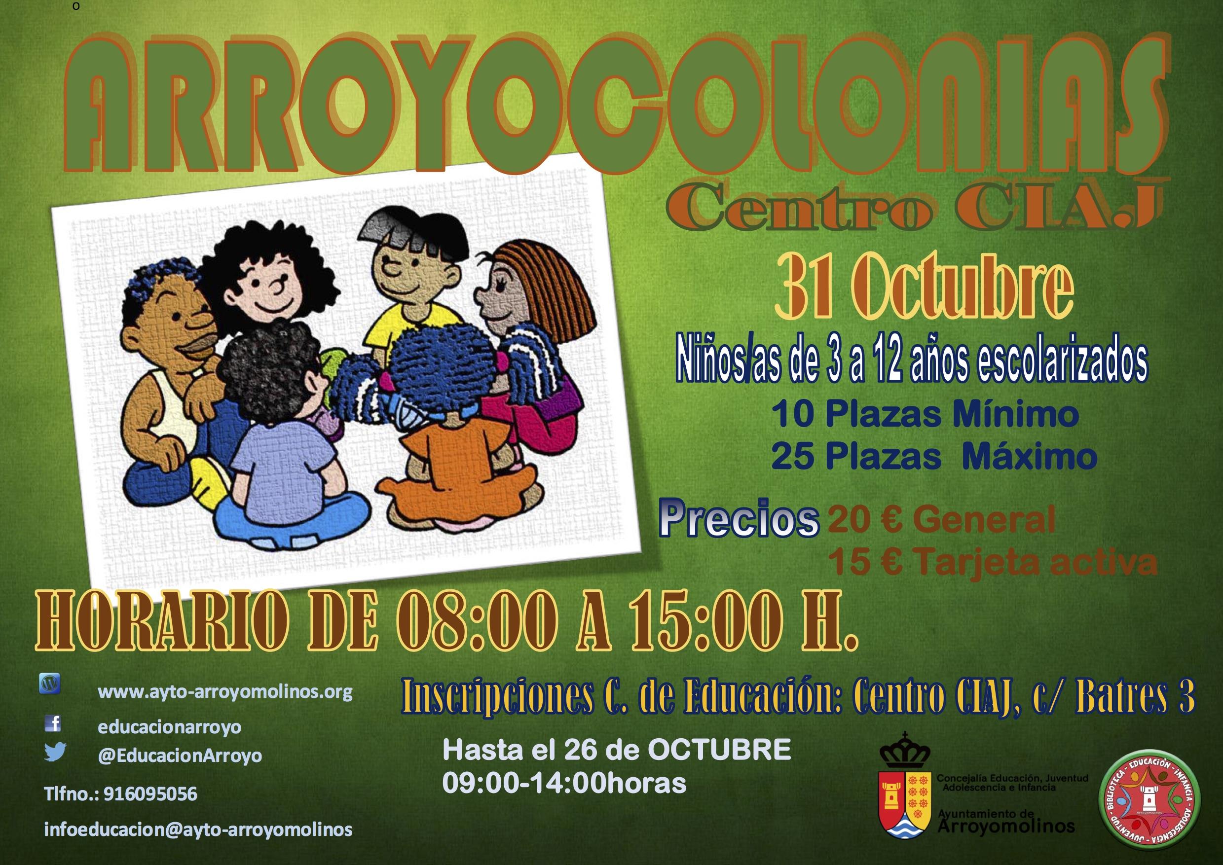 Arroyocolonias 31 octubre